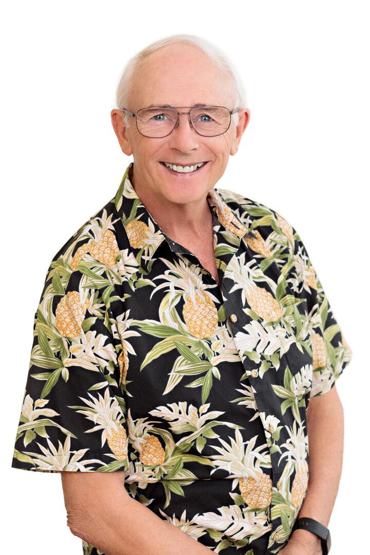 Ronald Hogg,  in Kailua-Kona, Windermere